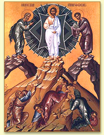 Holy Transfiguration Icon